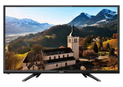 """Телевизор ECON SMART TV LED HD 24"""", с цифровым тюнером DVB-T2,"""