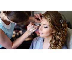 Свадебная, вечерняя прическа, макияж, обучение прическам