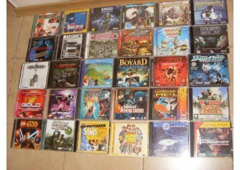 Диски с топ играми прошлых лет
